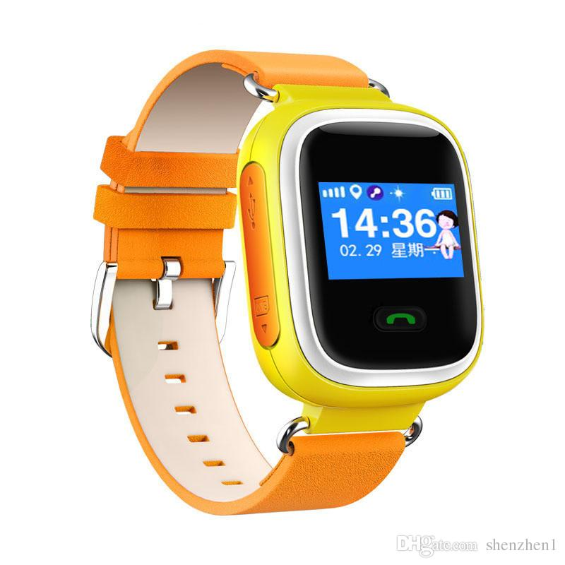 Q60 GPS Watch Smart Kid Gift Safe Wristwatch SOS Location Finder Locator Child Anti Lost Remote Monitor smartWatch For IOS Android OTH303