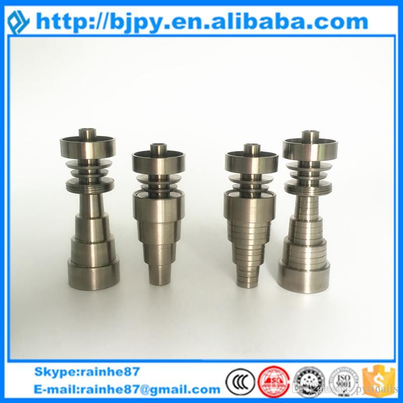 Migliore prezzo all'ingrosso due tipi di titanio domeless chiodo 14 millimetri di sesso femminile o maschile GR2 unghie puro titanio
