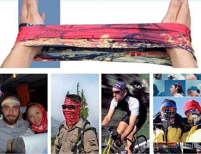 Велосипед открытый УФ солнцезащитный крем Разнообразие Волшебный шарф езда горный велосипед пылезащитная маска бесшовные шарфы шарфы Волшебный шарф мочалкой