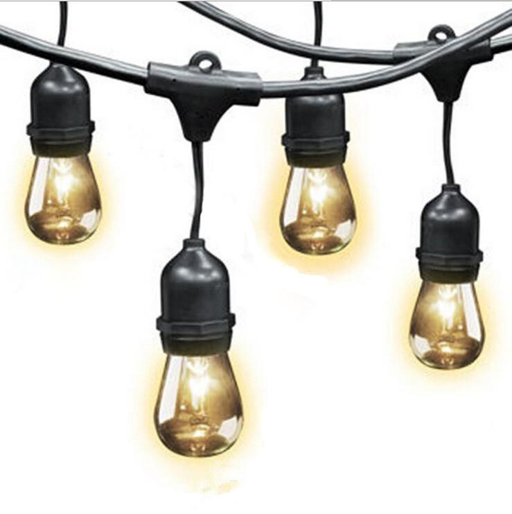 Feit Outdoor String Lights Not Working: 2017 2016 New Outdoor Power Line Plug Ul E26/E27 American