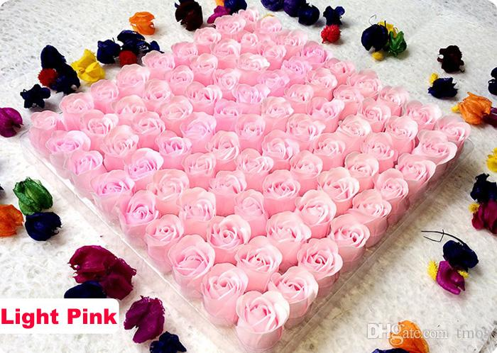 Simulation Rose soap creative holiday wedding Rainbow Soap gift single flower head wholesale multicolor option