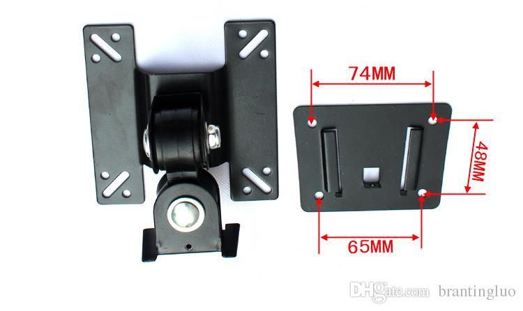 14-24 inç Tam Hareket 360 Derece LED LCD TV Duvar Montaj Dirseği Monitör Tutucu