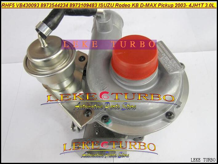 RHF5 VB430093 8973544234 8973109483 ISUZU Rodeo KB D-MAX Pickup 2003- 4JH1T 3.0L 130HP turbocharger