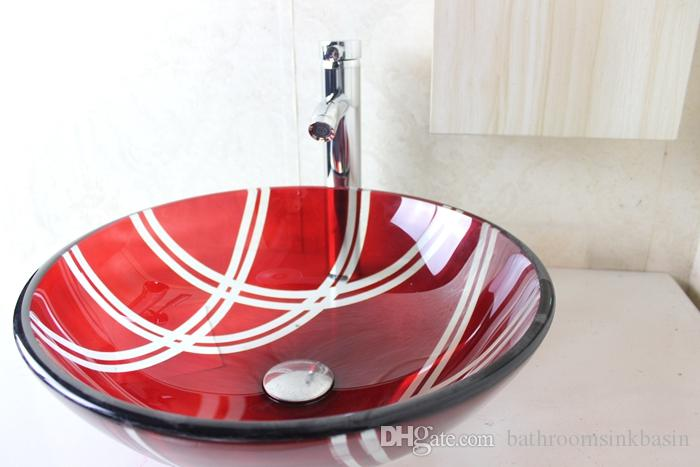 Buy Cheap Bathroom Sinks For Big Save, Glass Basin Vanity Bathroom Glass  Basin Glass Bowl Clear Tempered Glass Basins For Bathrooms Glass Bowl Sinks  N 772 ...