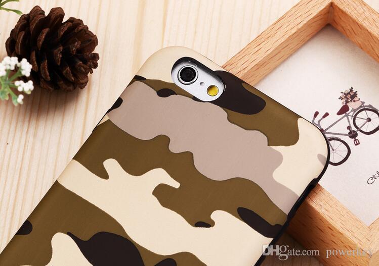 Harte rückseitige Abdeckung des Camo Armee-Tarnungs-Militär-Falles für iPhone 6 / 6s 4,7 Zoll 6 / 6s plus 5,5 Zoll kühle Malerei-Handyfälle