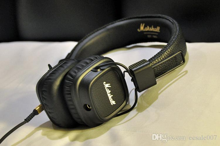 Neue Ankunft Marshall Major II 2 2. Generation Kopfhörer Noise Cancelling Headset Deep Bass Studio Monitor Rock DJ HiFi kopfhörer