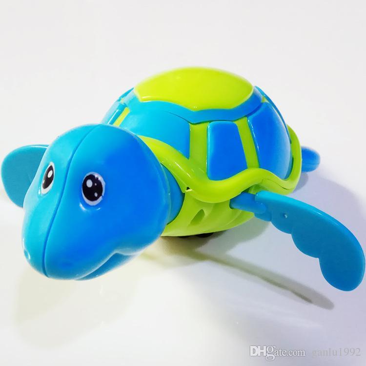 Little Turtle Banho Brinquedos Novidade Bonito Vento Acima Da Água Mergulhador Plástico Exercício Aderência Abilidade Piscina Brinquedo Para Crianças 1 75dh B