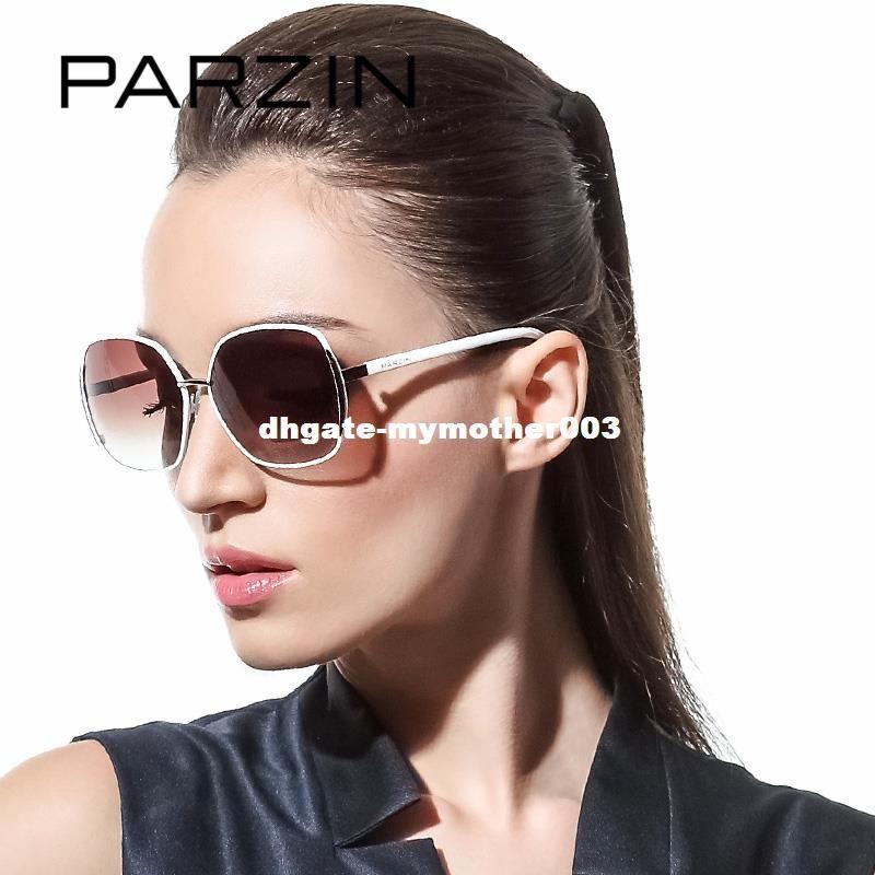 c3f2ebb274 PARZIN Brand Polarized Sunglasses Women Big Cat Eye Metal Frame Grace  Elegance Fashion High Quality Driving Glasses 9627 High Quality Driving  Glas China ...
