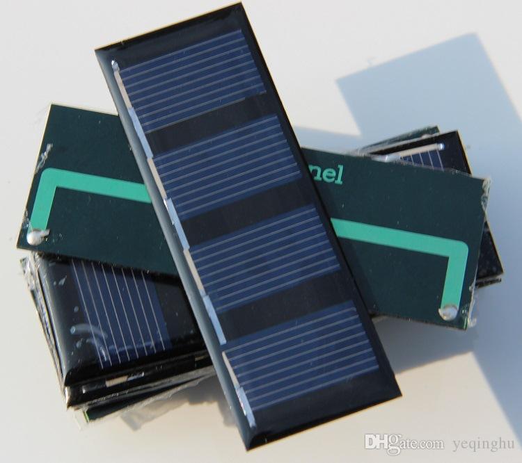 Großhandel 1000 teile / los Sonnenkollektoren 2 V 0,2 Watt Mini Solarzelle Für Kleingeräte Solar Spielzeug Panel Bildung Kit