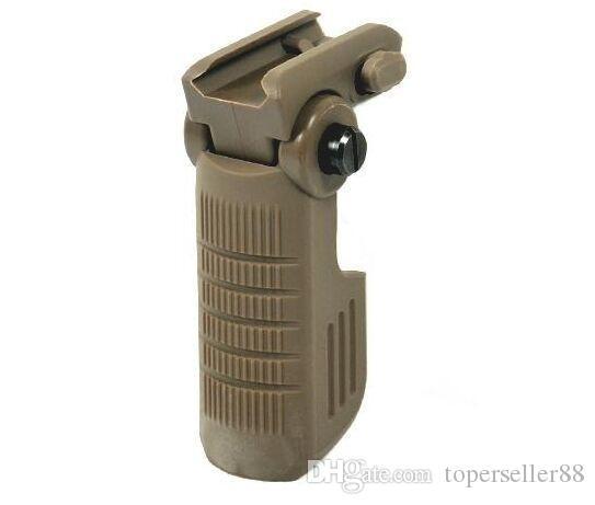 Вертикальная складная рукоятка тактическая рукоятка для AR15 / M4 / M16 черный / темная земля / оливковый драб