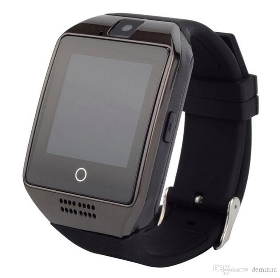 Q18 Smart Watch Horloge avec Sim TF Fente pour carte Bluetooth adapté pour ios Android Phone Smartwatch