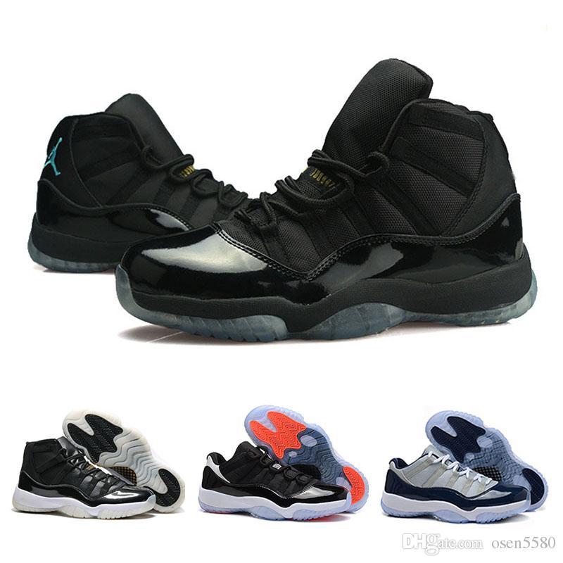 competitive price 6401b a4f7d Acquista Scarpe Da Basket Gamma Blue Di Alta Qualità In Stile Space Jam  Uomo Donna Nike Air Retro Jordan 11s Concords 72 10 Legend Blue Cool Grey  Sneakers A ...