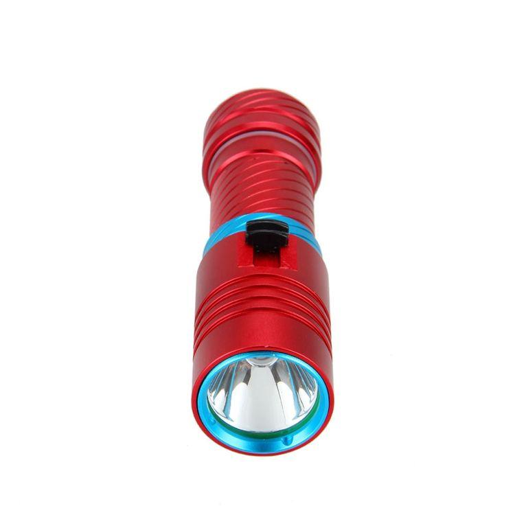 2300LM Scuba Diving 100m CREE XM-L2 LED Underwater Flashlight Torch Light Waterproof 18650/26650