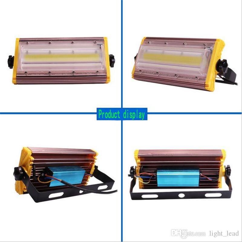 LED Fluter 50W 100W 150W AC85-265V COB Chip IP66 Wasserdichte Flut Außenleuchte Hof Gartenbeleuchtung