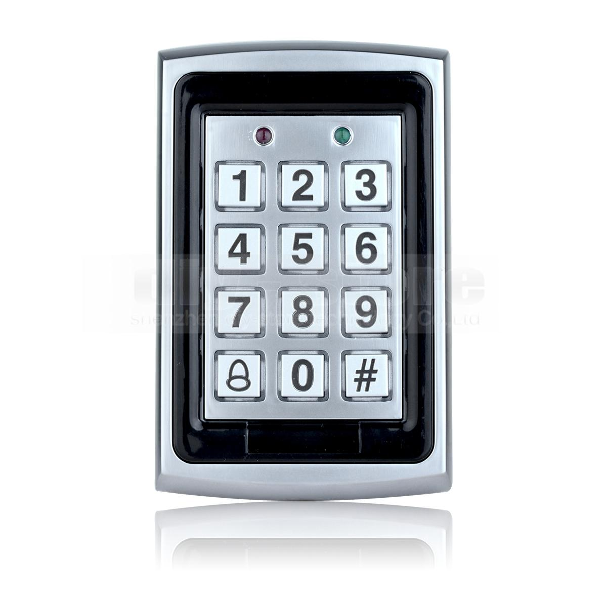 125khz Rfid Entry Metal Door Access Control System 10 Free Id Card