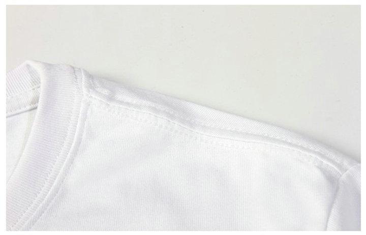 Изготовлена футболка шорты с коротким рукавом полный альбом музыки тройник цветных печатных платье Мужская одежда хлопок футболки