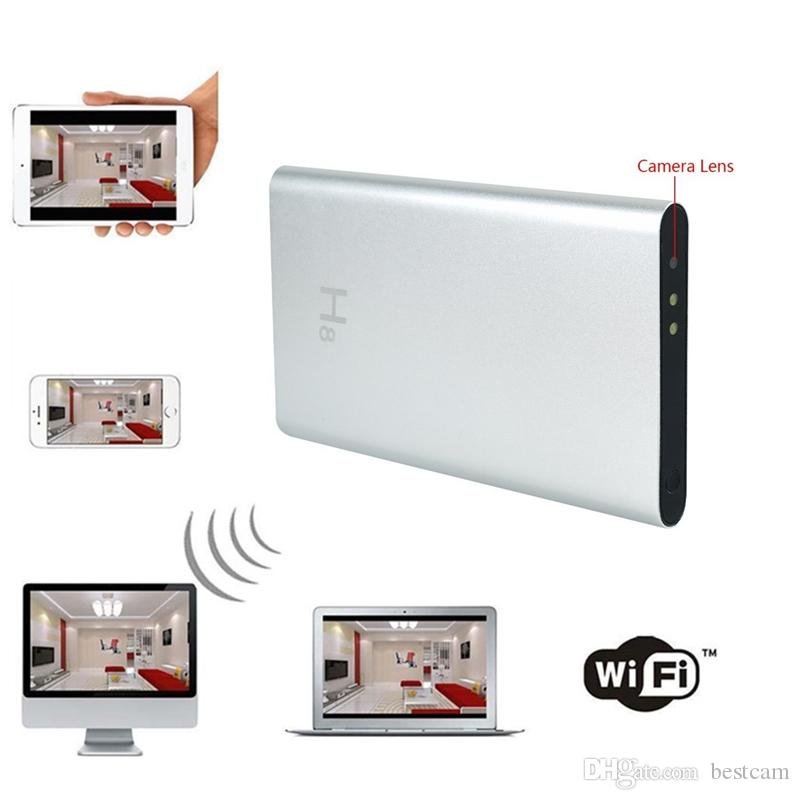 32gb New 19201080p Portable Wifi Spy Camera Mobile Power Bank