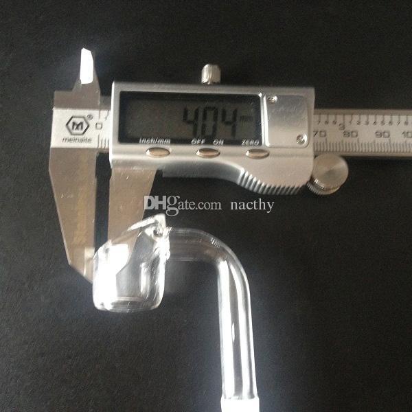 100% reale 4mm di spessore club banger chiodo senza testa al quarzo con tappo al quarzo Carb tubi di fumo di acqua in vetro Accessori