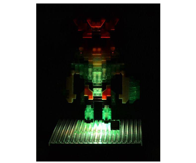LOZ Diamond Building Blocks Baseplate RGB Colorful LED Light Base DisplayGenuine Stand Plate Board Light Holiday Kids Gift
