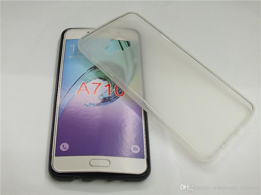 Para Samsung Galaxy Mega 6.3 I9200 I9205 A7 2016 A710 Grand Neo Plus I9060i Grand Prime DUOS G530H funda protectora de TPU suave para el caso de TPU