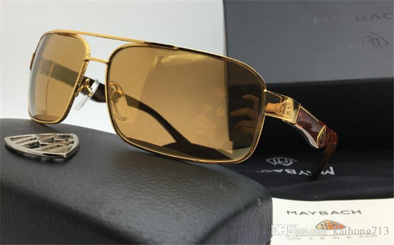 15b5e07293e 2017 Maybach G Wa Z03 Limited Edition 18k Gold Professional Design Senior  Sunglasses Men .