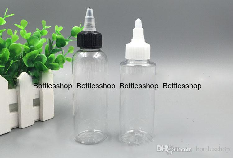 Fast Shipping Pet plastic bottles with twist top caps, wholesale 60ml dropper bottles twist caps e-liquid, e liquid pet bottles twist caps