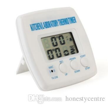 Multi-functional Digital LCD Display Timer Cooking Kitchen BBQ Probe Meat Food Thermometer Temperature meter