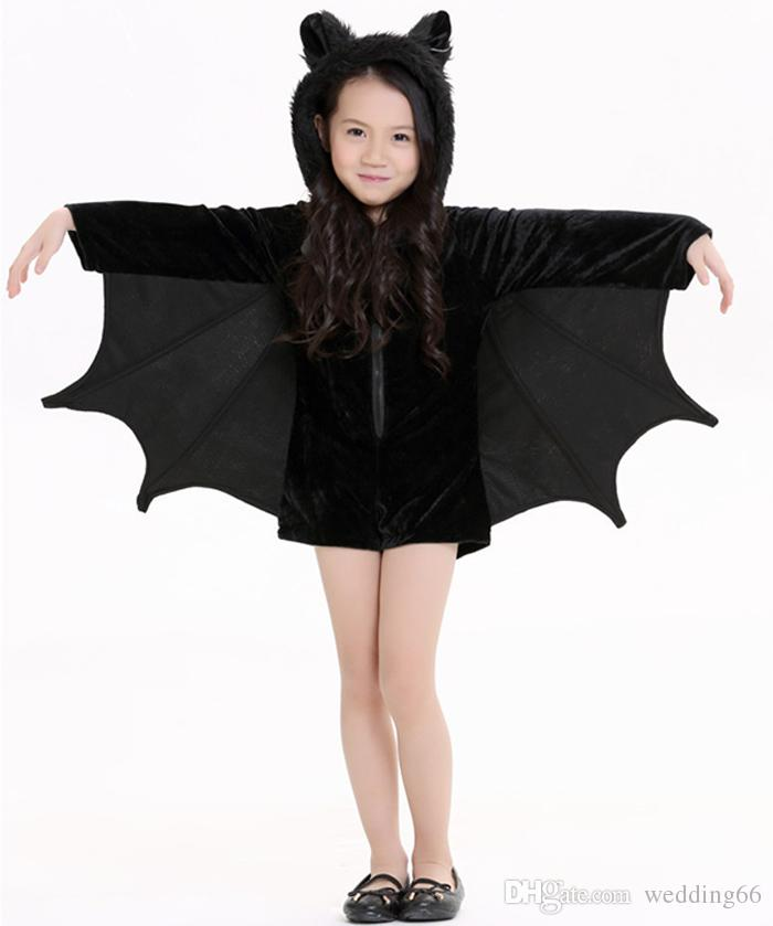 Children 'S Halloween Children' S Bat Dress Cos Play Children 'S ...