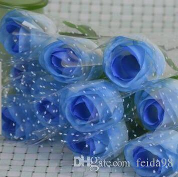프로 모션 선물 인공 꽃 인공 꽃 장미 단일 장미 발렌타인 복숭아 장미