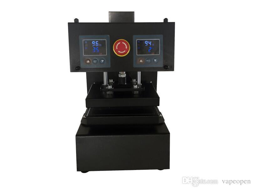 Rosin newest type rosin press machine PURE ELECTRIC Auto dual heat plates rosin heat press machine with LCD panel ,No air compressor needed