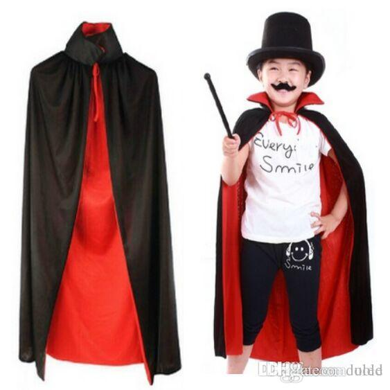 Childrenu0027S Cloak Halloween Costume Cosplay Theater Prop Death Hoody Cloak Devil Long Tippet Cape Red Black Free Fedex Dhl Costumes For 7 People Groups Of 4 ...  sc 1 st  DHgate.com : halloween costumes for 7 people  - Germanpascual.Com