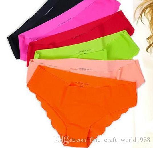 Sexy Briefs Tecido Ultra-fino Confortável Roupa Interior das mulheres Calcinha Sem Costura para Senhoras Meninas Sem Costura Cuecas para Frete Grátis