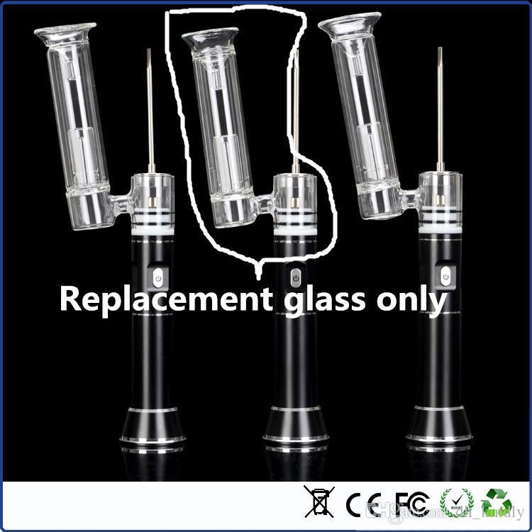 vaporizzatore della cera del tubo di vetro del tubo di vetro della sostituzione del tubo di vetro Impianto di perforazione portatile del dab del dispositivo di Dabber le piattaforme petrolifere dell'erba libera la nave