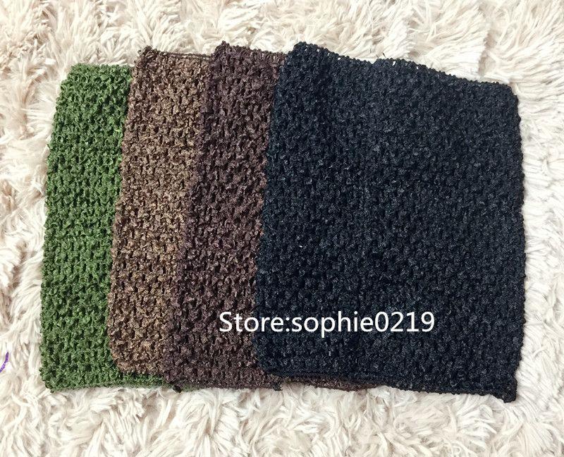 Baby Gir 9inch Crochet Tutu Tube Tops Chest Wrap Wide Crochet