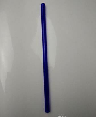 Il nuovo tubo di vetro colorato in vetro colorato con tubo di vetro fuma una lunghezza del tubo di 20 cm
