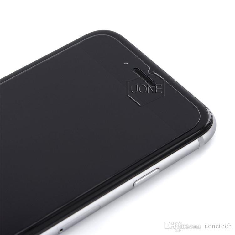 Protetor de tela de vidro temperado choque de touro para iphone x 8 samsung moto lg huawei samsung 2.5d explosão shatter 0.26mm com pacote de varejo