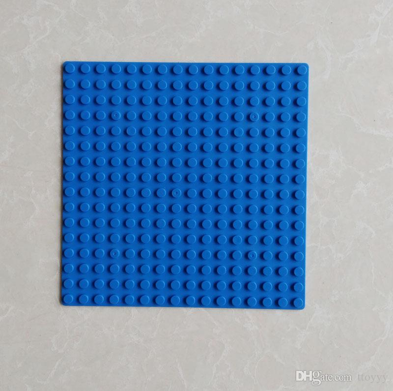 16x16 polka dots 12.8*12.8cm Building Blocks board Base Plate small particle assembled puzzle baseplate DIY Toys small block