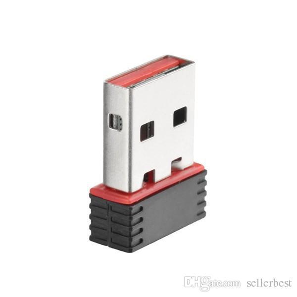 150 Mbps 150 M Mini USB WiFi Adaptador inalámbrico Tarjeta LAN 802.11n / g / b 2.4GHz para PC Ordenador portátil Arduino Android Tablet Android