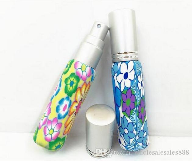 Prezzo di fabbrica del polimero di aromaterapia di vetro dello spruzzo Spray Bottiglie-10ml olio essenziale / del profumo Viaggi Bottiglie / da DHL libera il trasporto