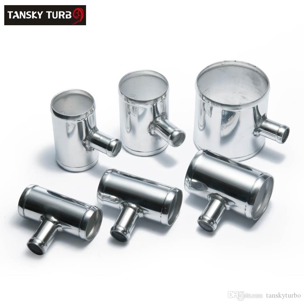 """TANSKY -NEW Universal BOV T-pipe 102mm 4"""" outlet 25mm Blow Off Valve T Joint Adaptor TK-04FP102T25"""
