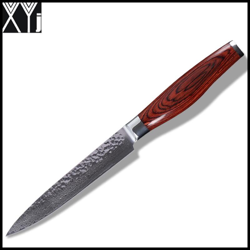 Grosshandel Xyj Damasus Messer Vg10 Damaskus Stahl Kuchenmesser 5