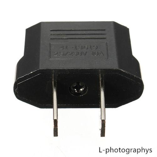 Europäische EU zu US USA Reise Power Ladegerät Adapter Stecker Outlet Converter 1000 stücke