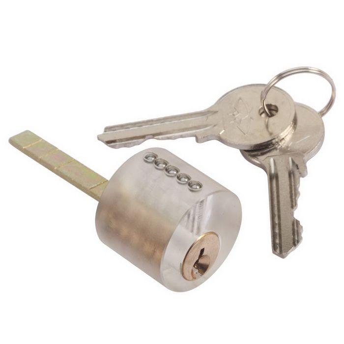 Attrezzi del fabbro della pistola del selezionamento della serratura dell'acciaio inossidabile con la pratica Strumenti del selezionamento della serratura del lucchetto l'addestramento di abilità del fabbro Strumenti di raccolta della serratura