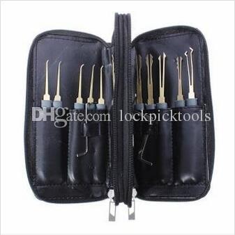 La migliore qualità Goso 20 pezzi selezionamento della serratura strumenti, attrezzo della serratura della casa, strumento del fabbro Trasporto libero