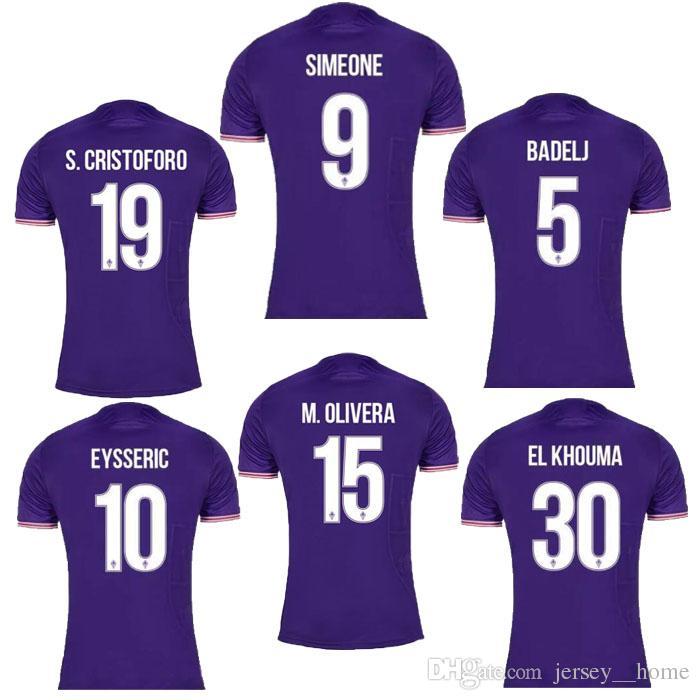 Maillot Domicile Fiorentina MARCO BENASSI