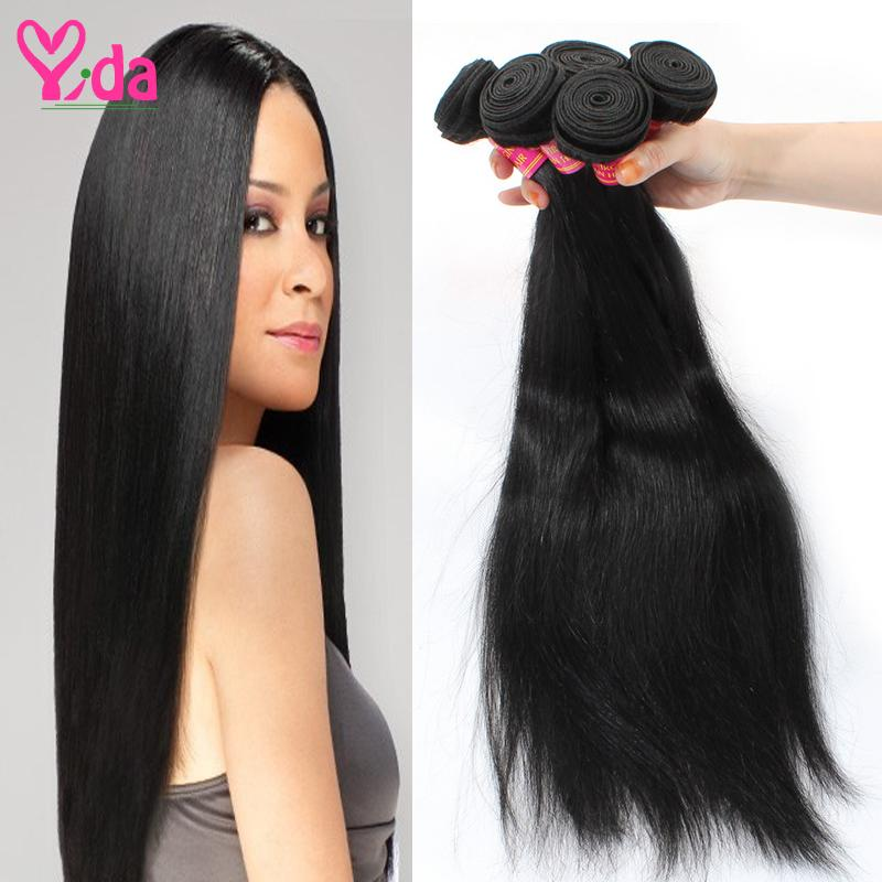 Brazilian Virgin Hair Straight Non Process 100 Percent Human Hair