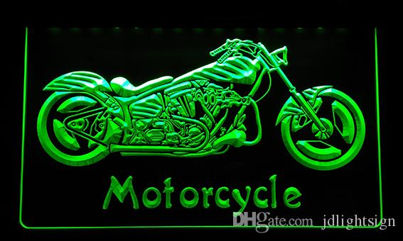 LS151 r Motorcycle Bike Sales Services Neon Light Sign Light