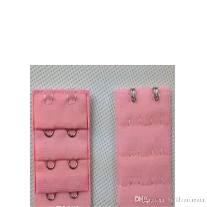 Ladies 2 Hooks Bra Strap Extender hook clip perfect Nude ADJUSTABLE BELT buckle multi color available a9-a16
