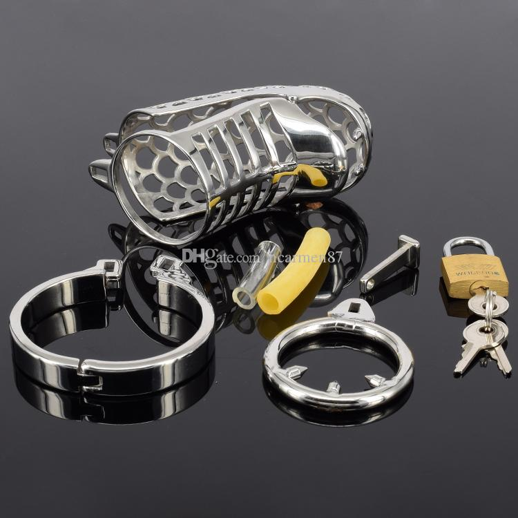 The Snake Chastity Device Metal Chastity Spikes Stainless Steel Cock Cage Chastity Belt Cock Ring Sex Toys Bondage Sex Products