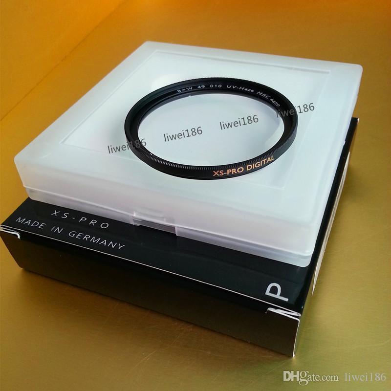 49 B+W UV XS-PRO MRC Nano Haze Protective Filter 49mm Multi-Resistant Coating MRC Ultra-thin Filtro Black Almite Frame For Camera Lens